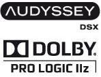 Audyssey DSX Dolby PLIIz