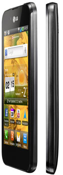 LG P970 Optimus Black Smartphone