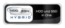 SSD und HDD Hybrid