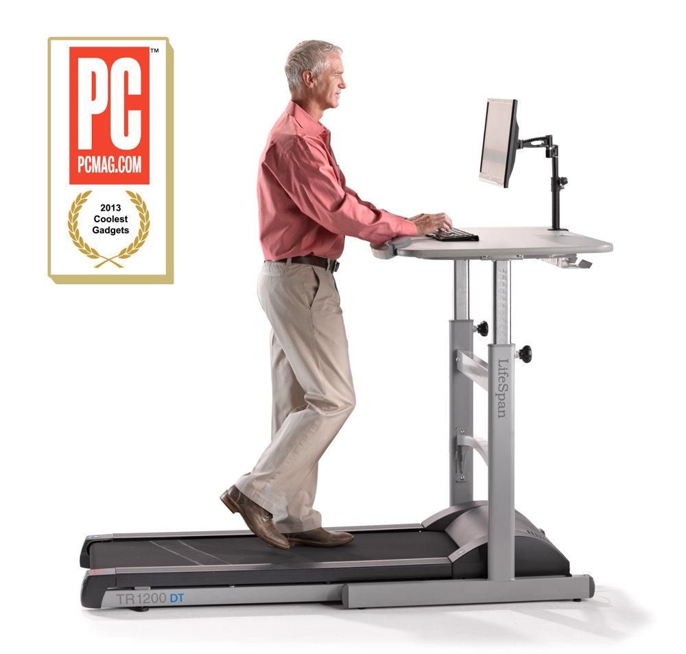Lifespan laufband treadmill desktop tr1200 dt5 220v for Schreibtisch laufband