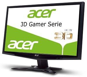Acer GR235HBMII 58,4 cm (23 Zoll) 3D Monitor (HDMI, VGA, 2ms ...