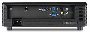 Acer X1211K DLP Projektor - Anschlüsse Rückseite