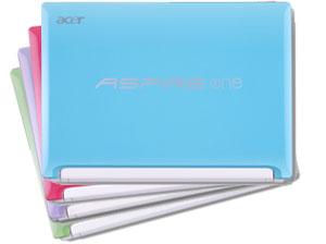 Acer Happy Serie in vier Farben