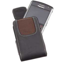 Leather Case for BlackBerry Curve