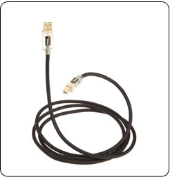 AmazonBasics USB 2.0 A-Male to B-Male Cable with Lighted Ends - Braided (6 Feet / 1.8 Meters)