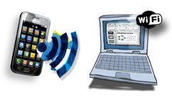WLAN und WiFi machen das Galaxy S I9000 zum Internetprofi