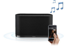 sdi ihome iw1 airplay drahtloser lautsprecher audio hifi. Black Bedroom Furniture Sets. Home Design Ideas