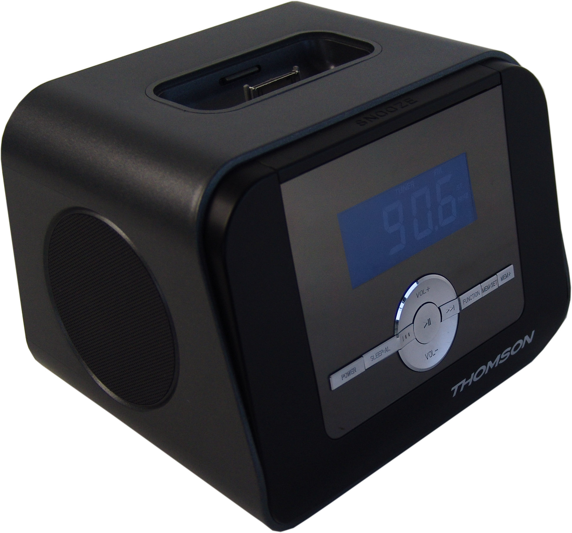 thomson cr308i uhrenadio radiowecker ipod iphone docking. Black Bedroom Furniture Sets. Home Design Ideas