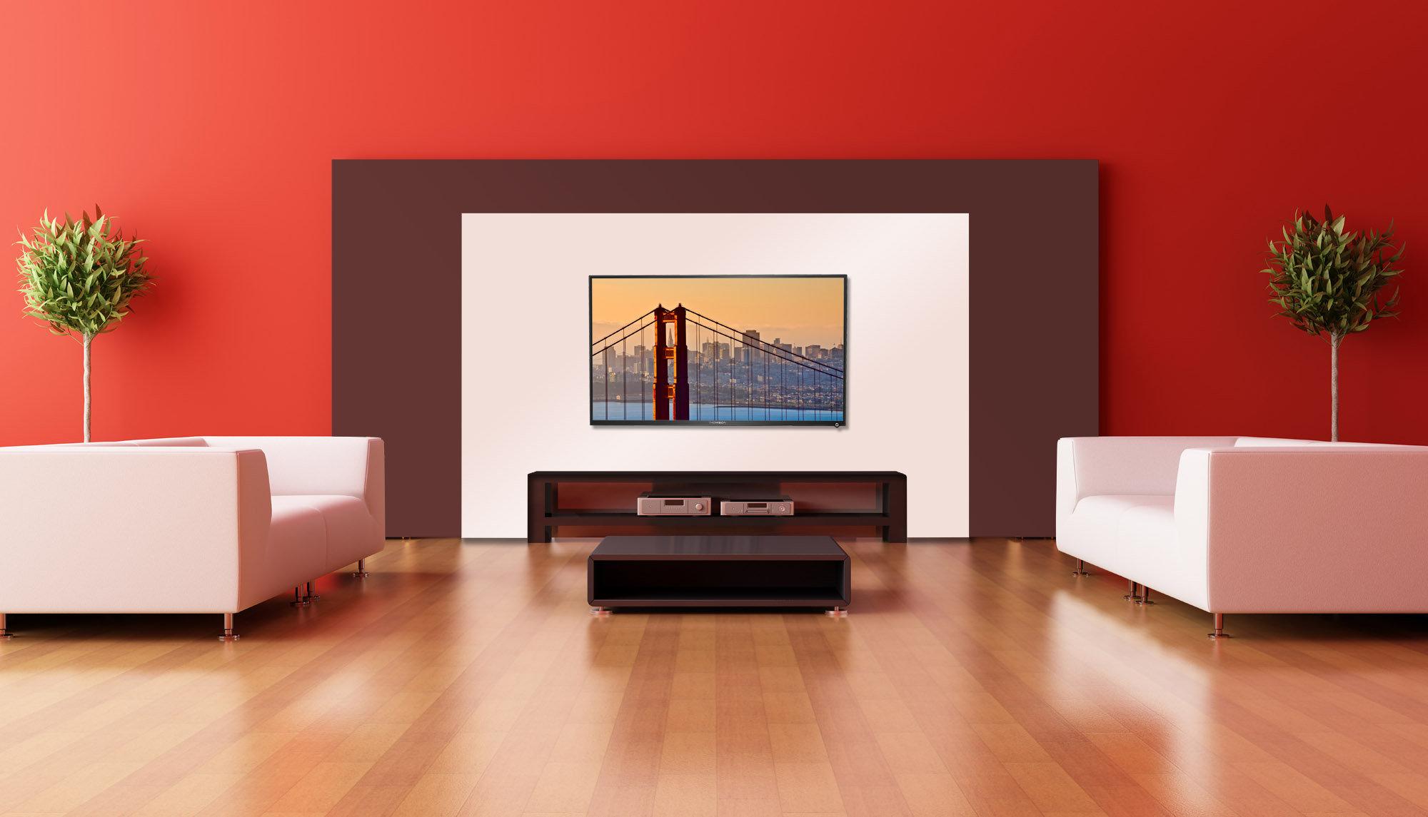 fernseher thomson 46fu5553 117 cm 46 zoll led backlight. Black Bedroom Furniture Sets. Home Design Ideas