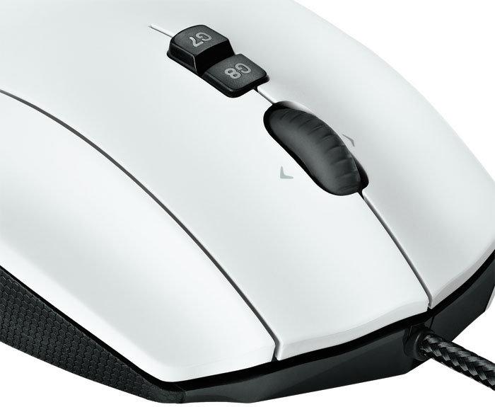 G600 MMO Gaming Mouse, G-Shift und Ändern der Empfindlichkeitsstufe