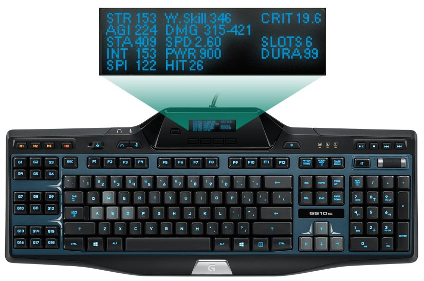 Logitech G510 Software