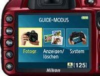 Guide Modus bei der Nikon D3100