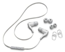 3 Flexible Ohrstöpsel und optionale Stabilisatoren
