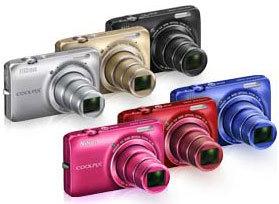 Nikon Coolpix S6300 - Farbvarianten