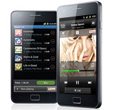 Samsung Galaxy S II - Music Hub