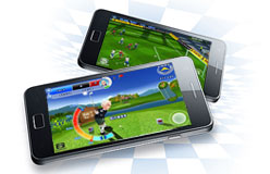 Samsung Galaxy S II - Game Hub