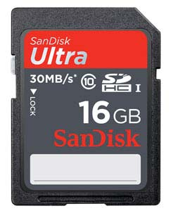 SanDisk Ultra SDXC UHS-I Memory Card (64GB) Product Shot