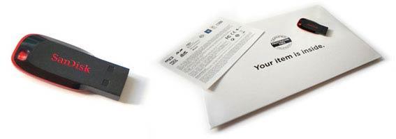 Cruzer Blade Frustration Proof Packaging