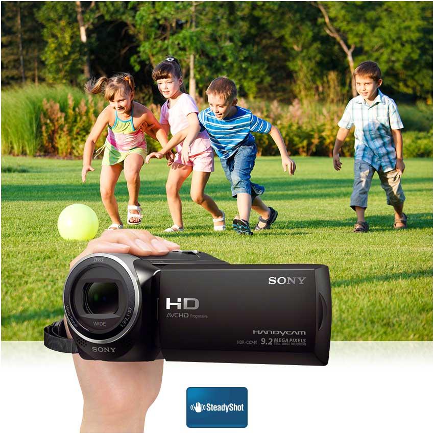 """Sony HDR-PJ240EB.CEN Caméscope Numérique 2,7"""" (6,7 cm) 9,2 Mpix Zoom"""