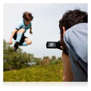Egal, was Sie tun – freuen Sie sich über brillante, scharfe und verwacklungsfreie Aufnahmen.