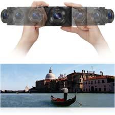 Machen Sie mit dem 360°-Schwenkpanorama atemberaubende Allround-Aufnahmen.