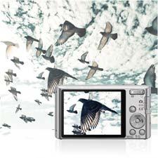 Durch einfaches Betätigen des Schalters können Sie HD-Videos mit digitalem Sound aufnehmen.