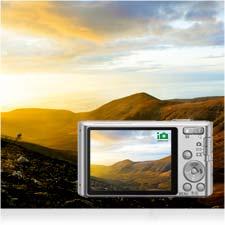 Egal ob Sonnenuntergang oder Nahaufnahme, iAuto wählt für jede einzelne Aufnahme die idealen Einstellungen.