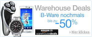 Teaser Bild für Amazon Special: Warehouse Deals @ Amazon.de