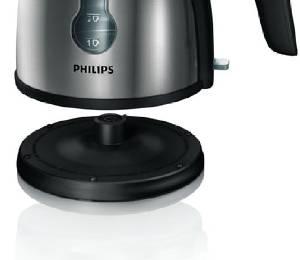 philips hd4619 20 wasserkocher aus edelstahl tassen. Black Bedroom Furniture Sets. Home Design Ideas