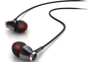 Ergonomisch angewinkeltes Design der Akustikröhren