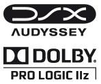 Audyssey DSX Dolby PL IIz
