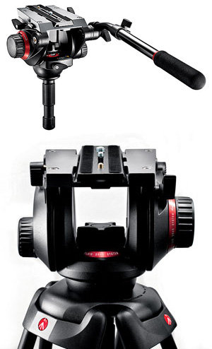Manfrotto 504HD FLUID-VIDEOKOPF