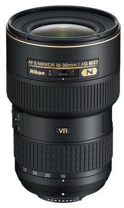 AF-S NIKKOR 16-35mm 1:4G ED VR von Nikon