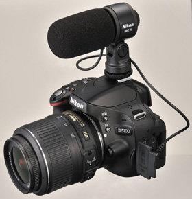 Nikon ME-1 Stereomikrofon auf D5100