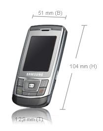 Samsung D900e