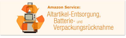 Altartikel-Entsorgung, Batterie- & Verpackungsr�cknahme