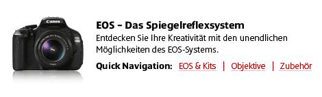 Das Canon EOS System und Kits, Objektive und Zubeh�r