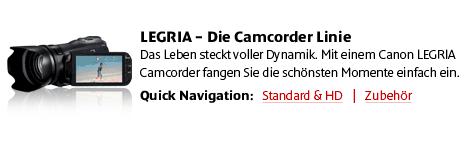 Canon Camcorder und Zubeh�r