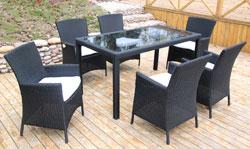 lounge gartenmöbel: Ambientehome 63458AM 7-teilige Sitzgruppe ...