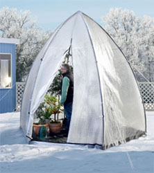 bio green winterschutz tropical island zelt wei garten. Black Bedroom Furniture Sets. Home Design Ideas