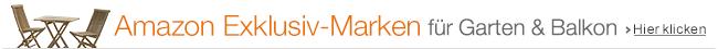 Exklusiv-Marken für Garten & Balkon