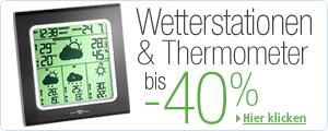 Wetterstationen & Thermometer bis -40%