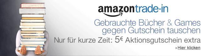 Teaser Bild für Amazon Special: Trade-In: Gebrauchtes gegen Gutschein tauschen