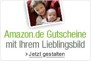 Amazon.de Geschenkgutscheine mit eigenem Foto