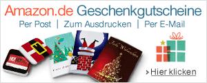 Geschenkgutscheine zu Weihnachten