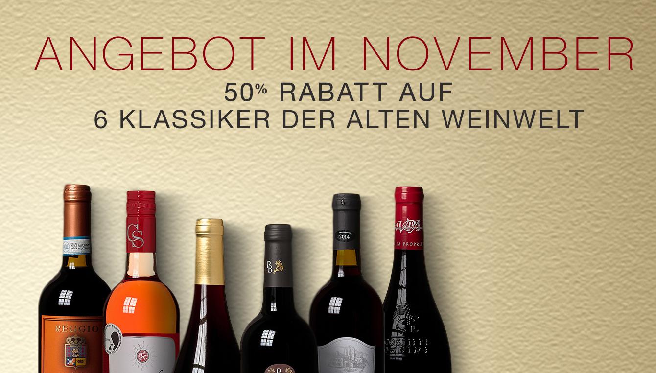 Weinpaket des Monats