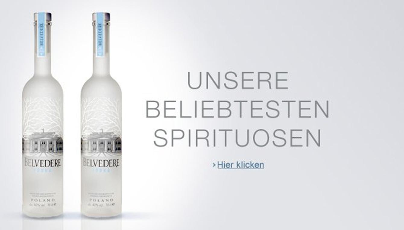 Unsere beliebtesten Spirituosen
