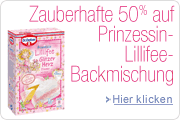 Backen mit Prinzessin Lillifee