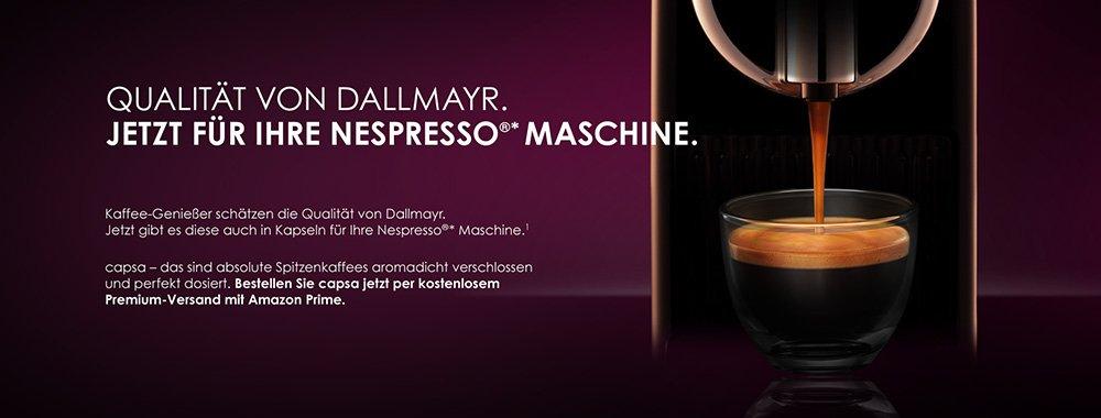 Dallmayr Qualitaet f�r Nespresso Maschinen