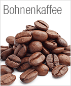 Kaffee in ganzen Bohnen
